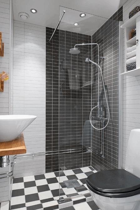 37 Comfortable Small Bathroom Design And Decoration Ideas Small Apartment Bathroom Modern Shower Room Modern Small Bathrooms