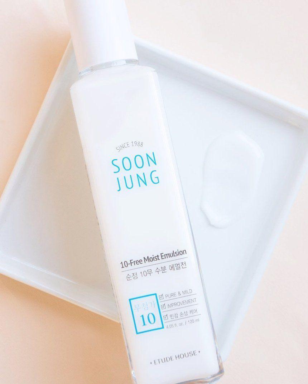 Soonjung 10 Free Moist Emulsion By Etude House In 2020 Etude House Etude House Lip Tint Skin Care