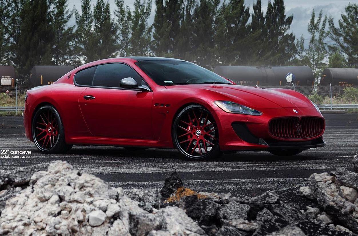 Maserati Granturismo Mc Sportline With Vellano Wheels By Mc Customs Maserati Granturismo Maserati Maserati Car