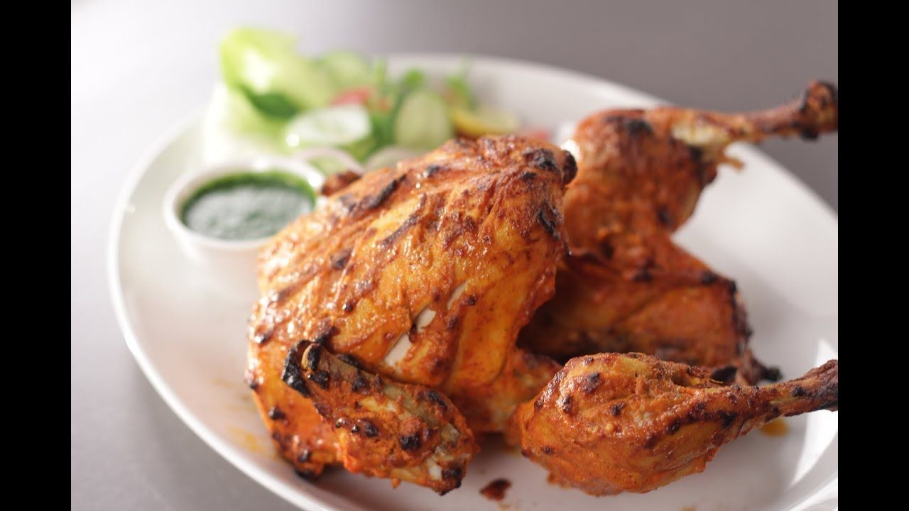 Full Tandoori Chicken Sanjeev Kapoor Khazana Tandoori Chicken Roast Chicken Recipes Chicken