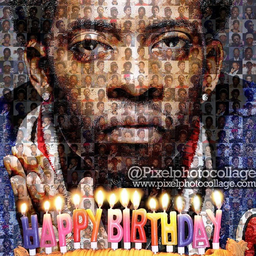 Idea By Collagewishes On October 4 Celebrity Birthdays Photo Collage Very Happy Birthday Photo Mosaic