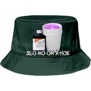 db1a87ba472 SLO MO ON A HOE Bucket Hat Otto Cap 16-096 16-0962041 Custom Heat Pressed