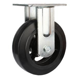 Wheel Material Rubber Iron Cast Size 4 X 50mm 5 X 50mm 6 X 50mm 8 X 50mm 10 X75mm 12inch X 75mm Loading Capacity 2 Caster Rubber Heavy Duty Caster