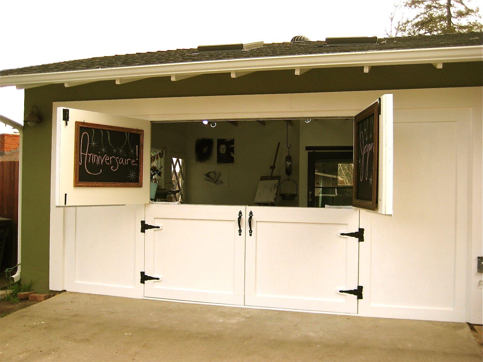the perfect dutch-door..garage/art studio doors! & the perfect dutch-door..garage/art studio doors! | Home Decor ...
