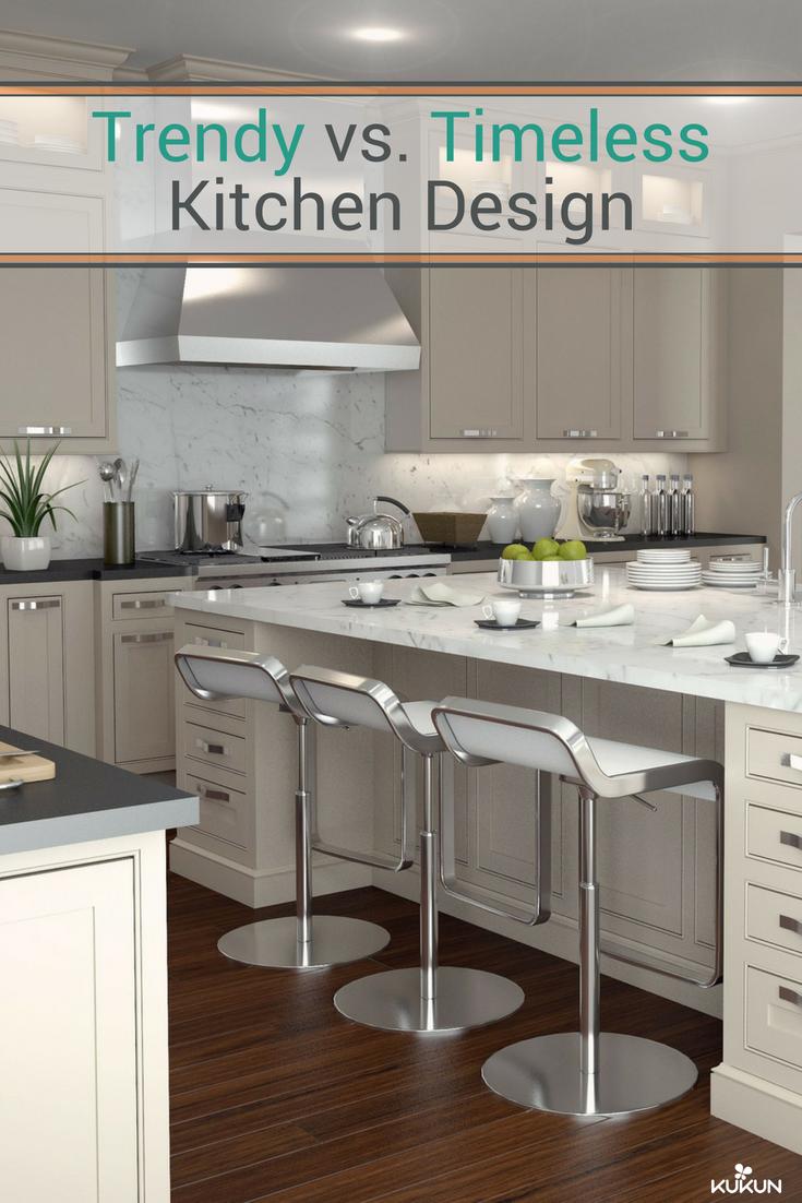 Trendy Vs Timeless Kitchen Styles Kukun Timeless Kitchen Kitchen Layout Kitchen Island With Granite Top