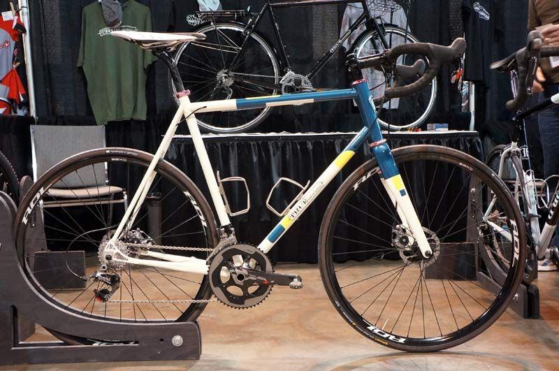 True Fabrications 2013 Custom Steel Disc Gravel Bike Cross
