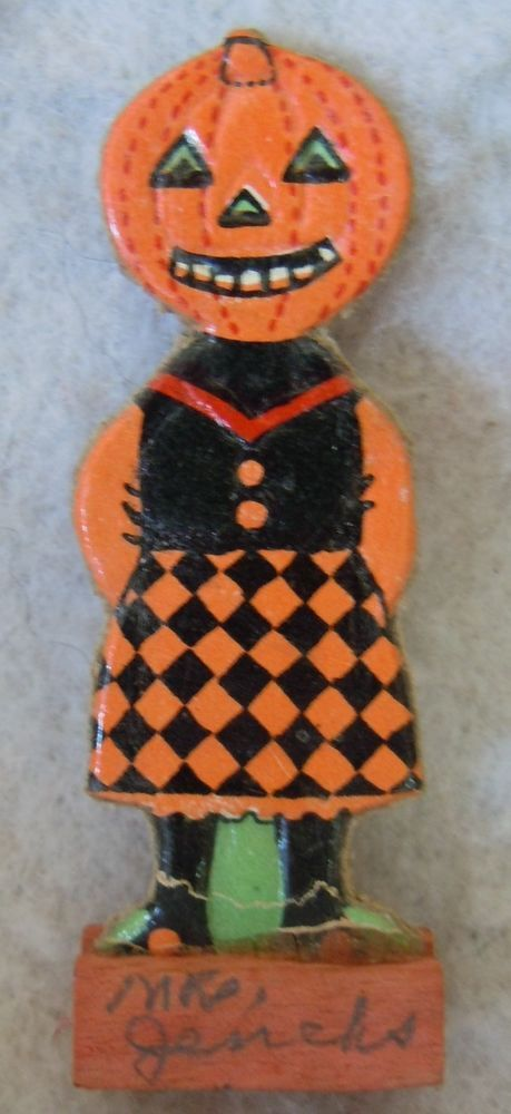 Pin by Blissful Sojourn on Halloween Pinterest - vintage halloween decorations