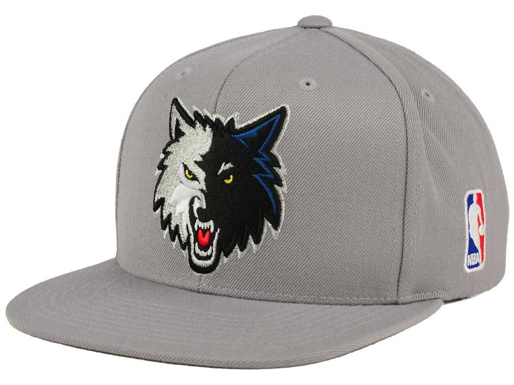 87f1fef3e23276 ... best price minnesota timberwolves mitchell and ness nba xl logo  snapback cap e12cc ade6c