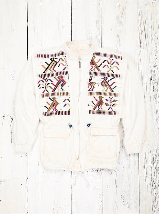 Free People Vintage Embroidered Jacket, $398.00