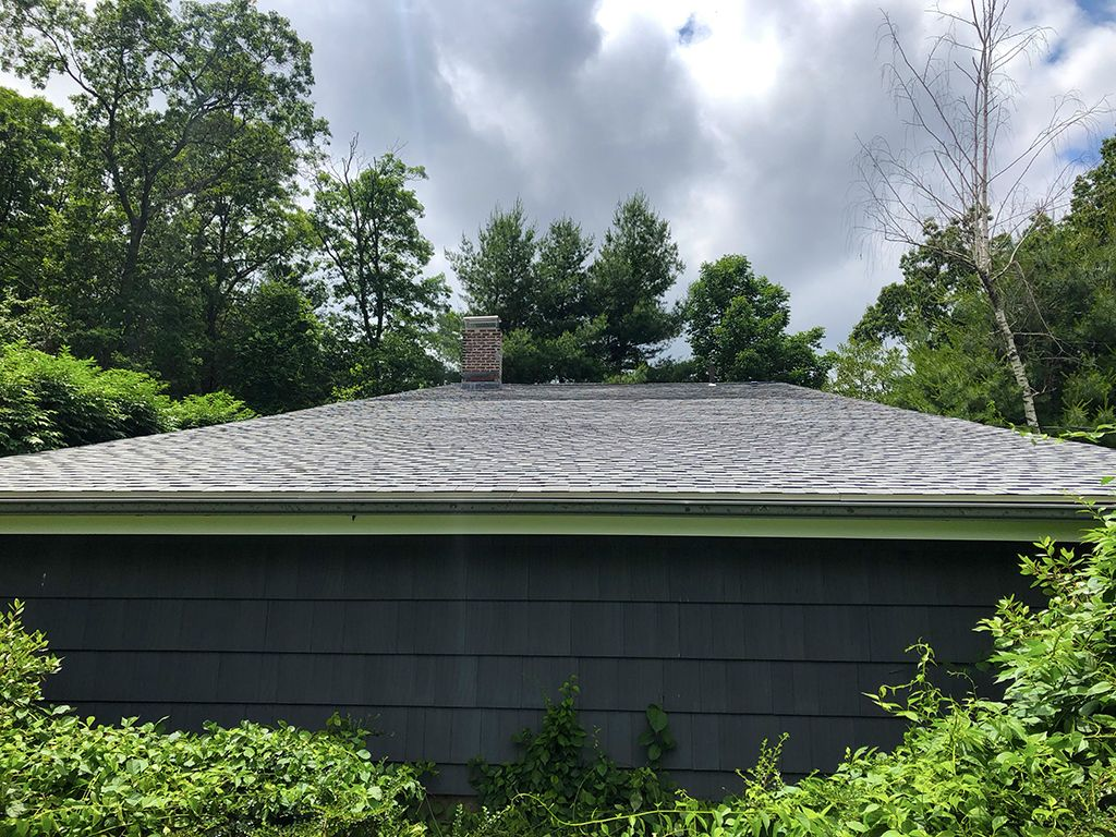 Best On This Pitched Roof Replacement We Installed Certainteed 400 x 300
