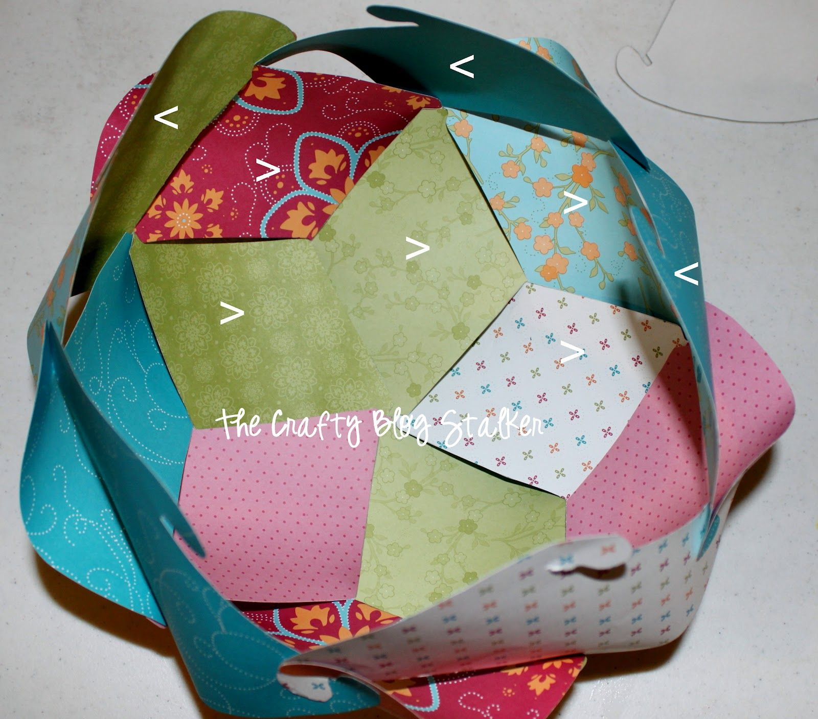 How To Make A Paper Sphere