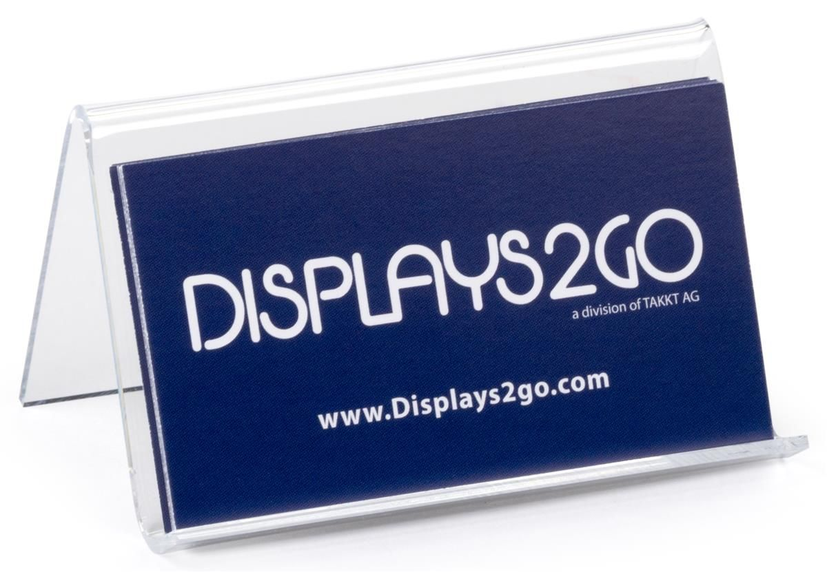 Plastic Business Card Holder Clear Acrylic Desk Display Business Card Holders Plastic Business Cards Business Cards