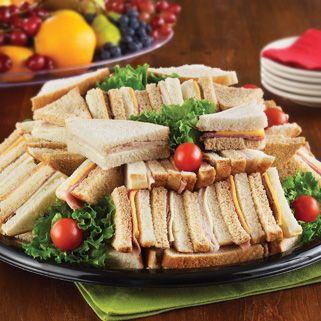 30 Serves 20 25 Deli Meat Party Finger Sandwich Tray