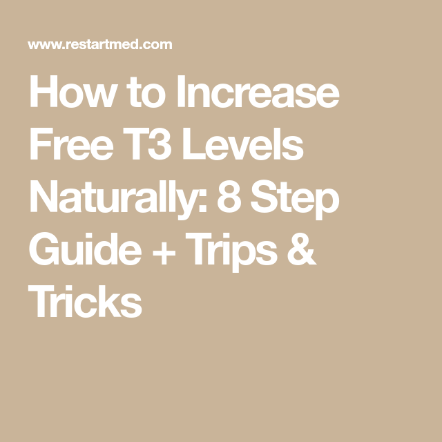 Normal Thyroid Levels Manual Guide