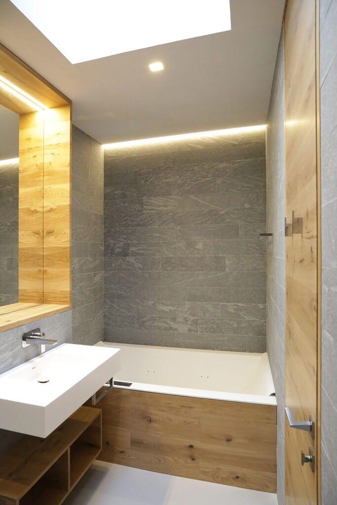 Neu Die Badezimmer sind bündig mit reichen Holz, Verkleidungen rund um  KP66