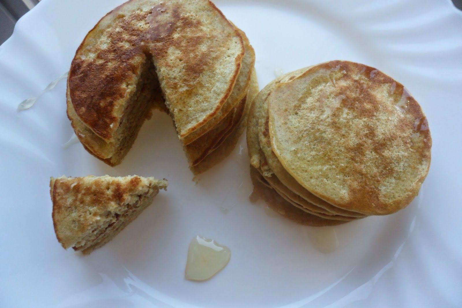 SheelaWorld: Recept: Gezonde pannenkoekjes