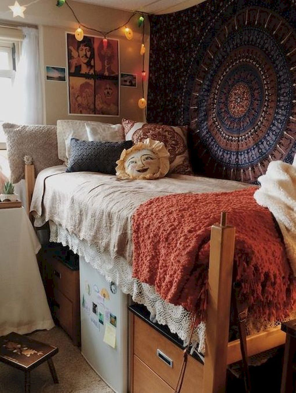 Cool 80 Cute DIY Dorm Room Decorating