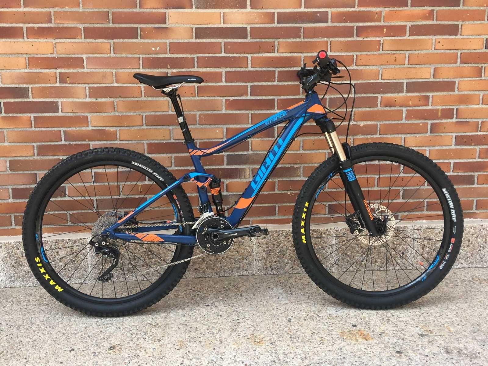 Bicicleta De Montaña Giant Stance Ref 34697 Talla S Año 2016 Cambio Shimano Deore Xt Cu Bicicletas Bicicletas De Montaña Giant Bicicletas De Segunda Mano