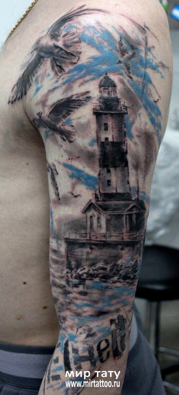 Фото татуировки на плече, фото тату на плече / Тату салон ...