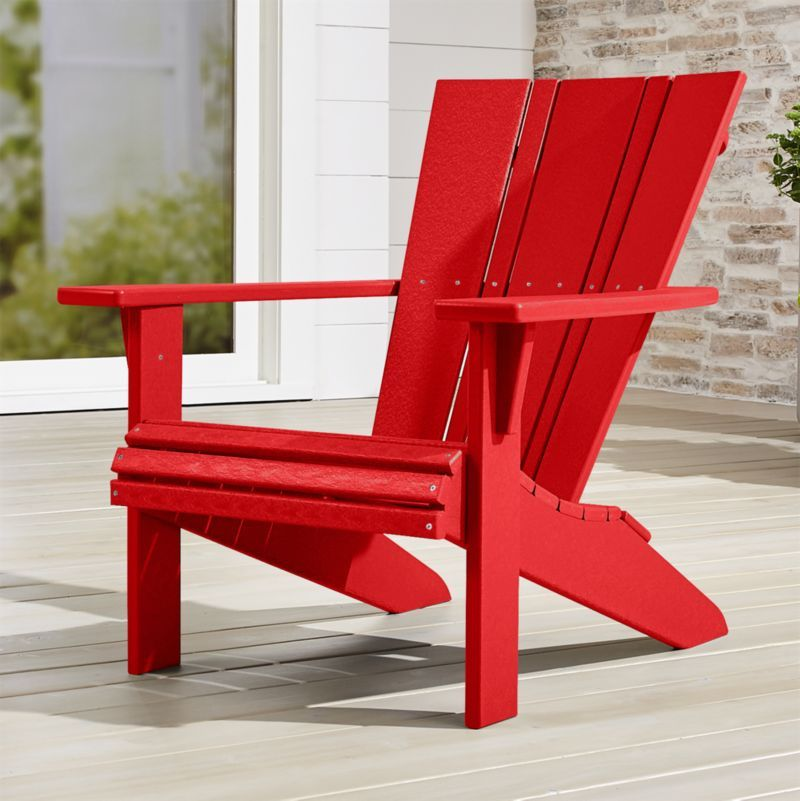 Vista II Sunset Red Adirondack Chair + Reviews