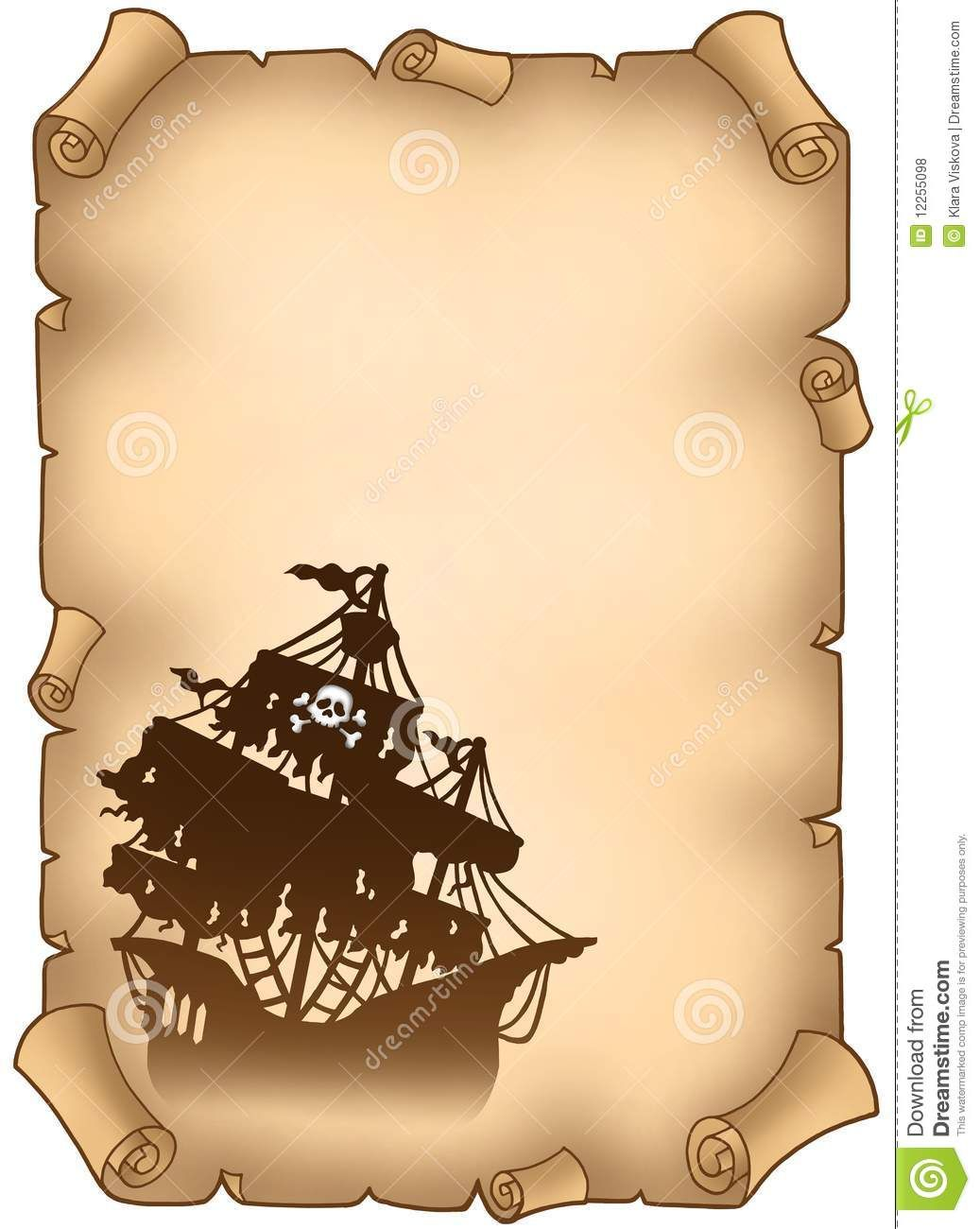 Pirate Scroll Banners