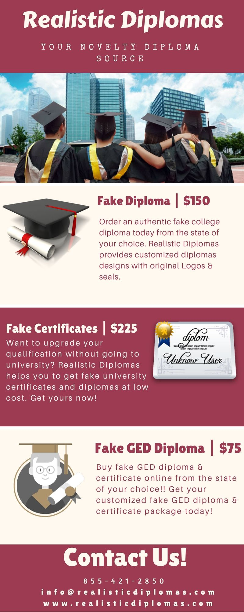 want to buy fake diplomas fake certificates and fake ged diploma with less cost realistic diplomas provides many novelty college diploma designs with