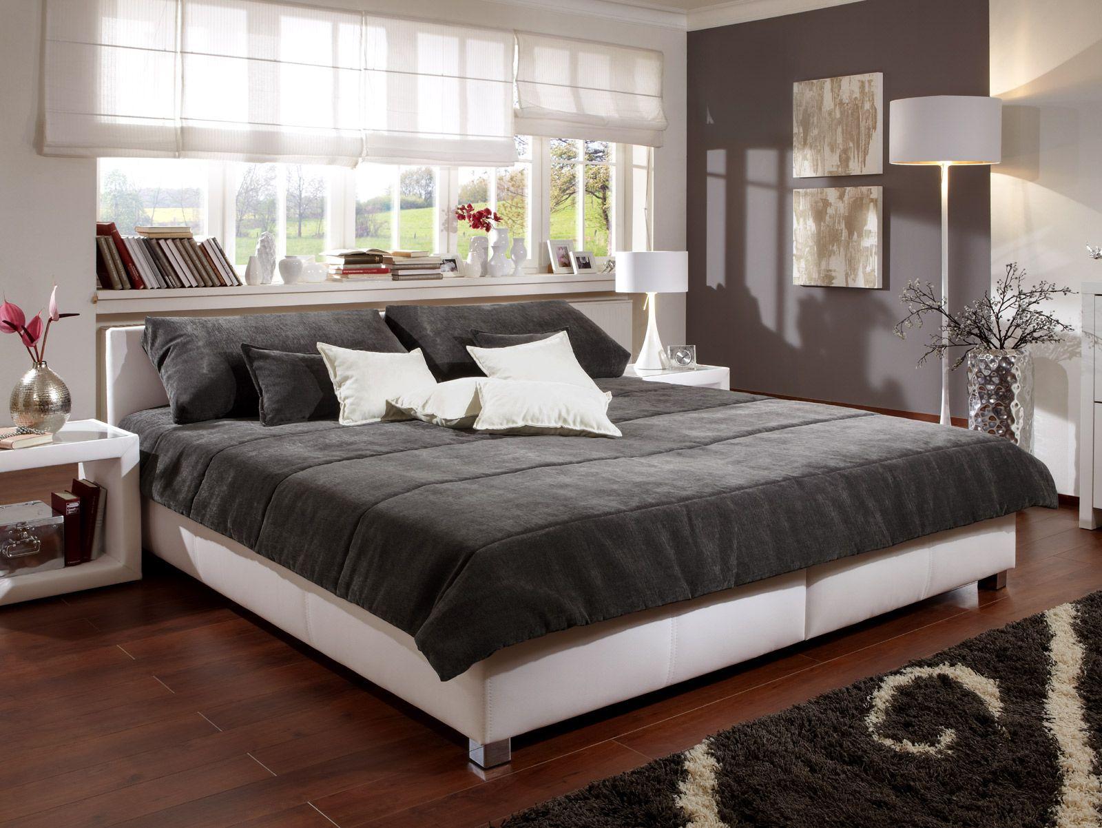 Dodenhof Schlafzimmer ~ Graues boxspringbett elegantes schmuckstück für ihr schlafzimmer