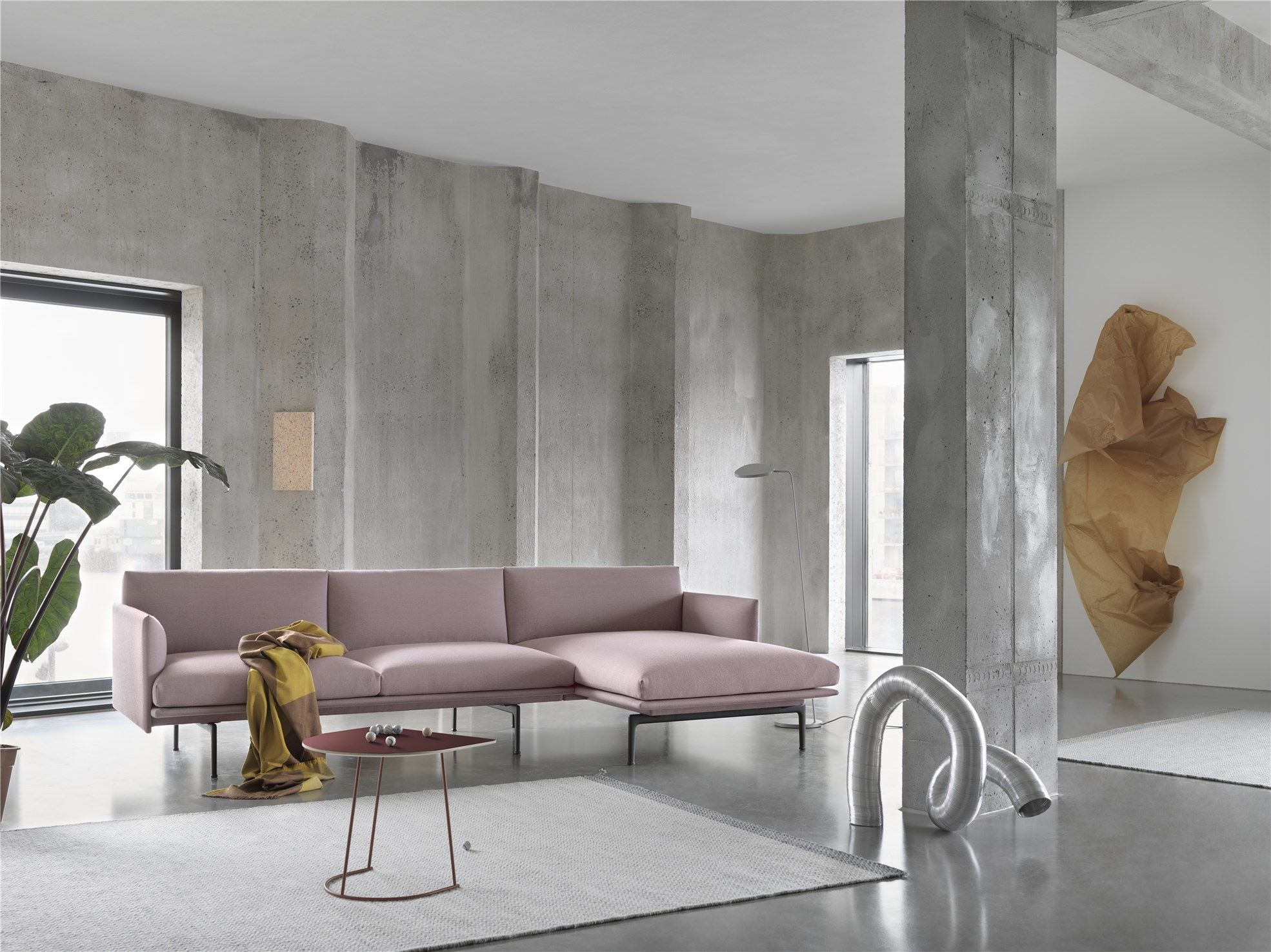 The New Collection From Muuto Mixes Pastels With Natural Materials