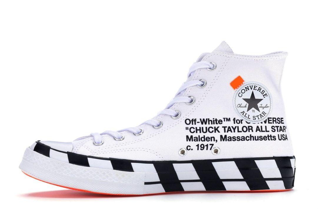off white scarpe converse