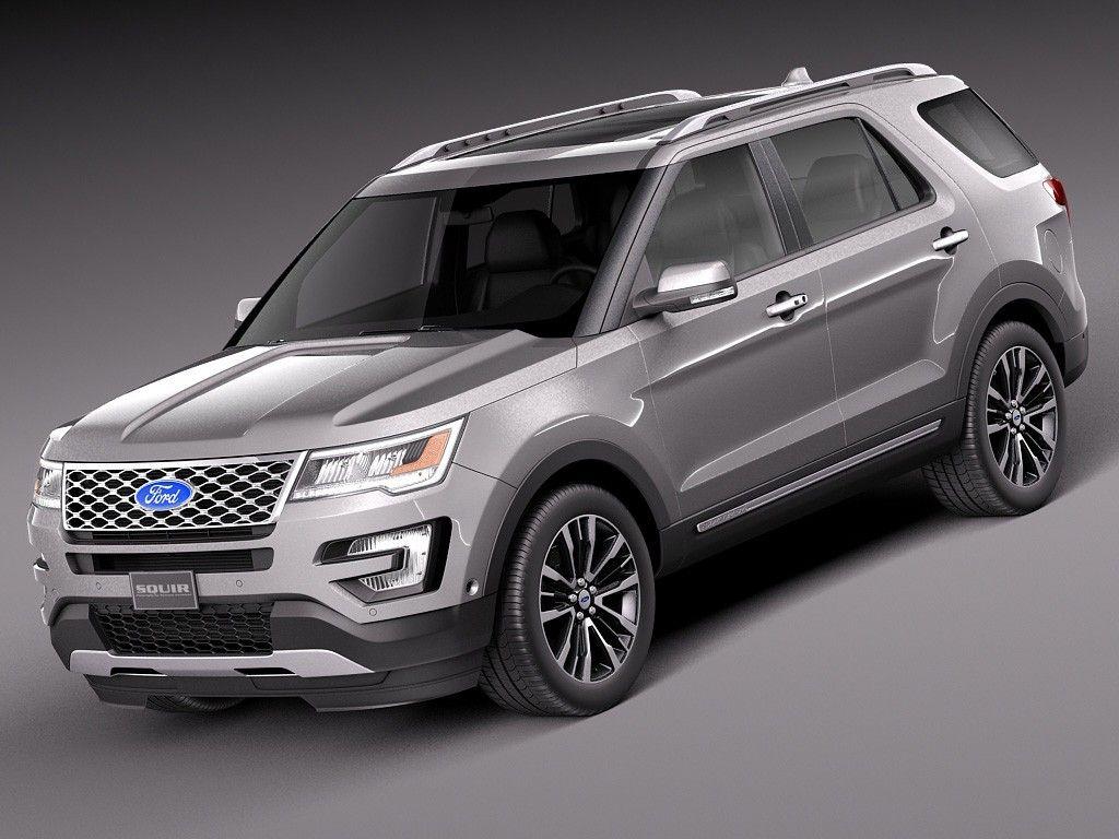 Bản nâng cấp của Ford Explorer 2018 Ford explorer, Ford