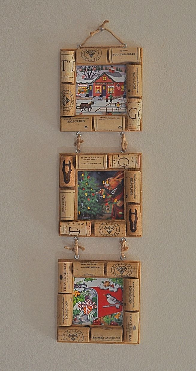 3 x 3 Picture Frame - Cork   corchos by Nara Maria   Pinterest ...
