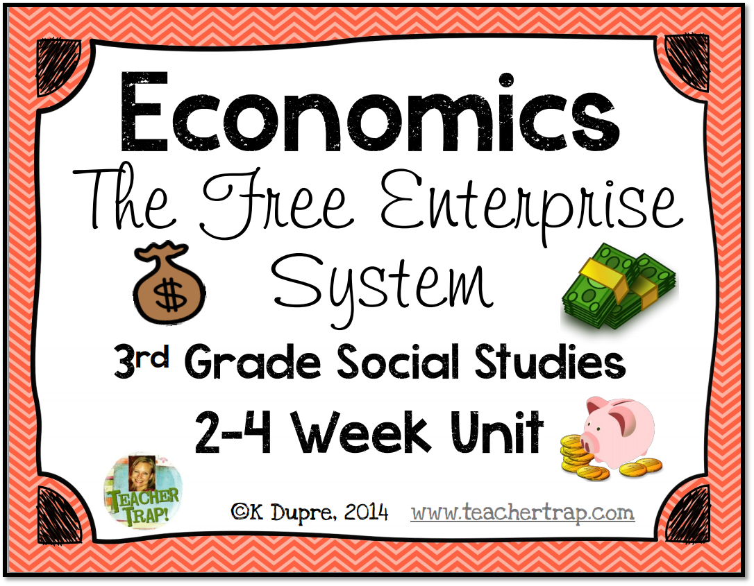 Free Enterprise System Aligns To 3rd Grade Teks