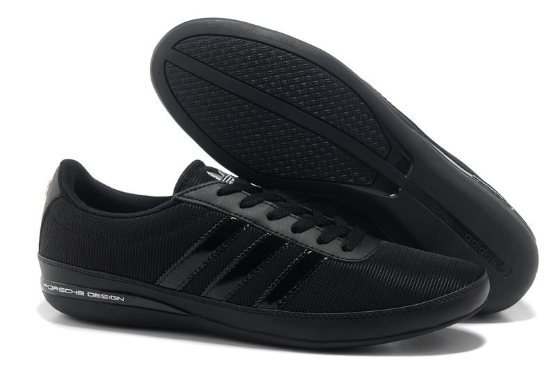 huge selection of f2ff3 7a509 Adidasals Porsche Design Breathable Running Shoes Men Black Silver  Materials ADNO555