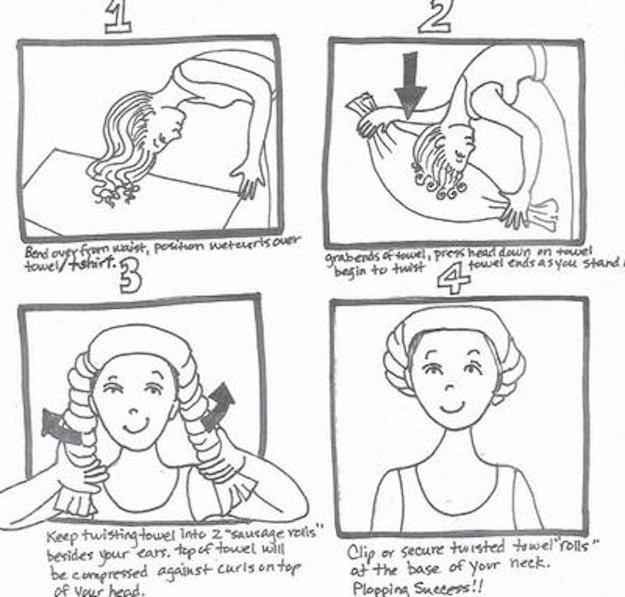 Here S How To Plop Your Hair For The Best Curls Of Your Life Curly Hair Styles Curly Hair Styles Naturally Dry Curls
