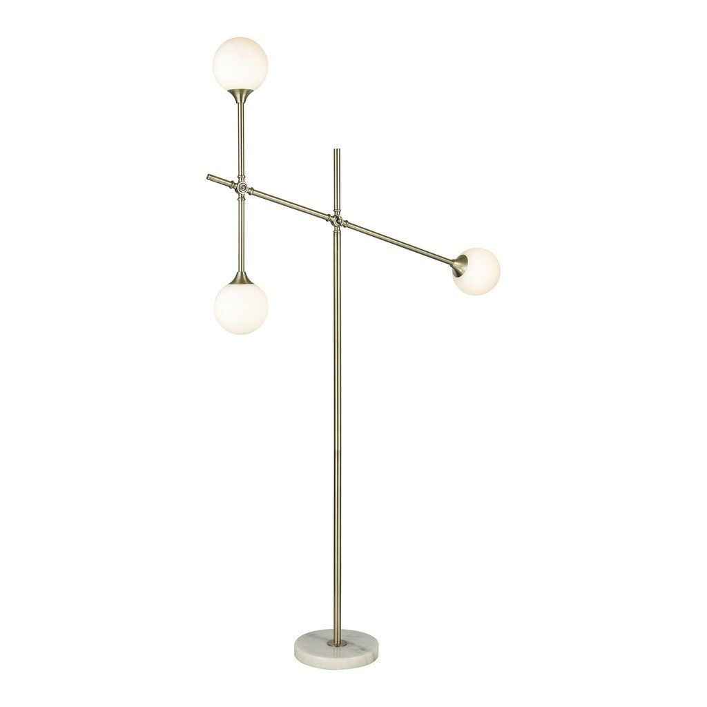 Dimond lighting trousedale 3 light boom arm floor lamp in brass dimond lighting trousedale 3 light boom arm floor lamp in brass d3261 mozeypictures Image collections