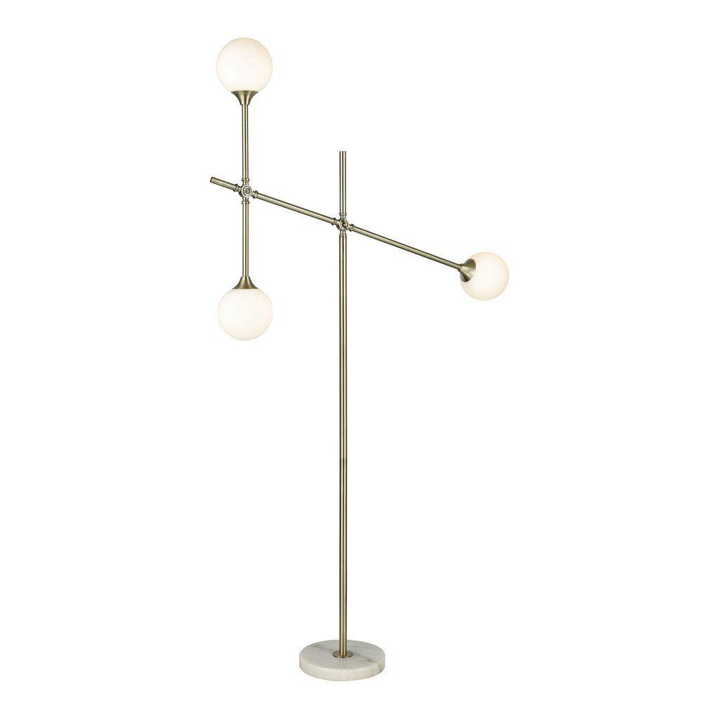 Dimond lighting trousedale 3 light boom arm floor lamp in brass dimond lighting trousedale 3 light boom arm floor lamp in brass d3261 mozeypictures Images