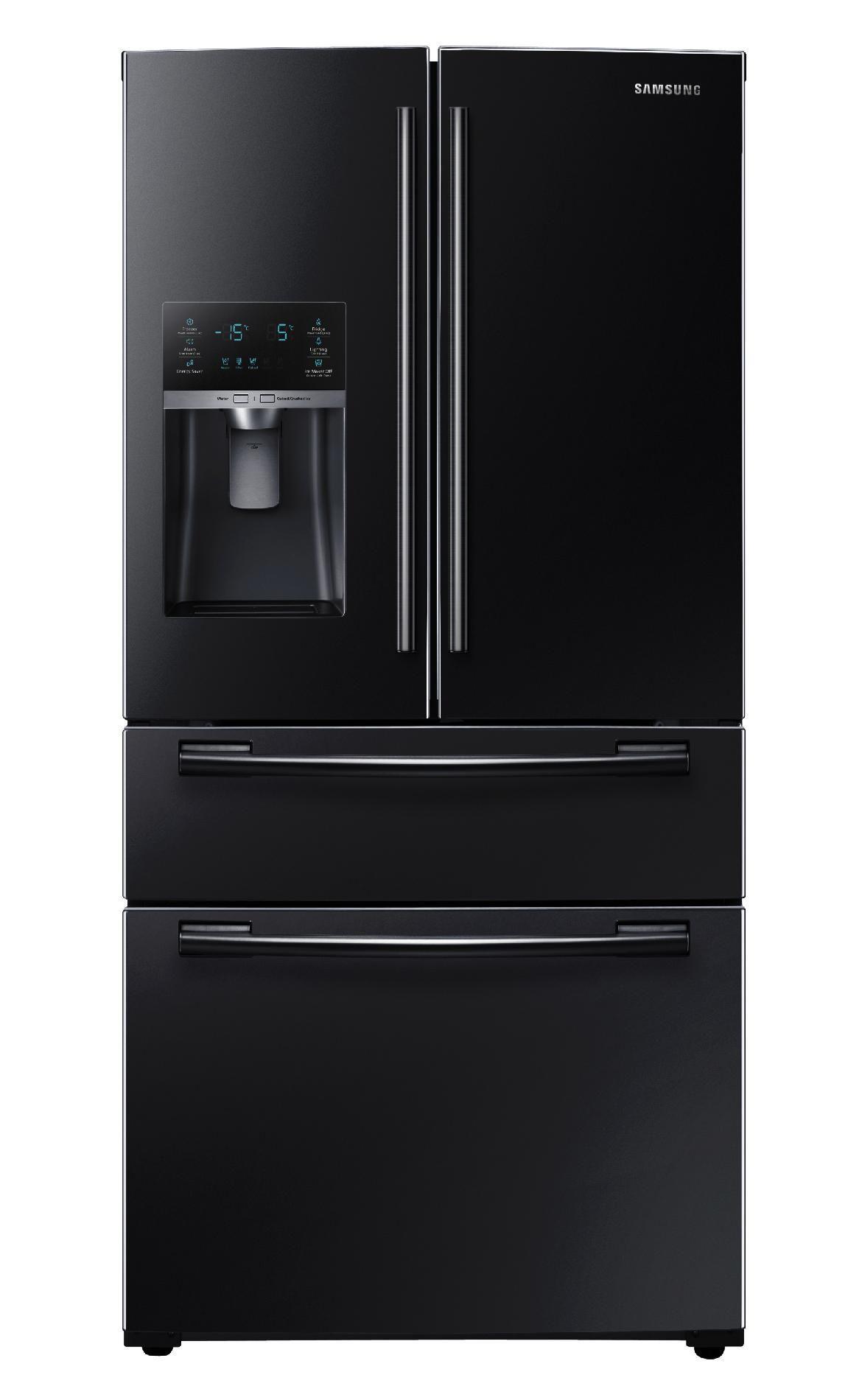 Samsung 25 Cu Ft 4 Door French Door Refrigerator Black