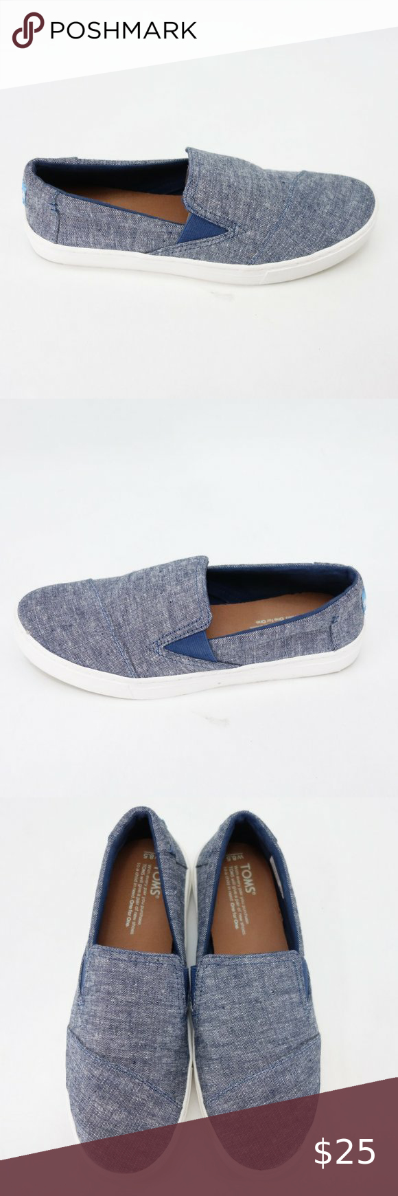 TOMS Luca Womens Slip On Casual Shoes