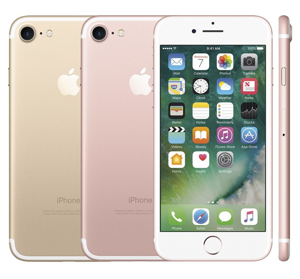"""Apple IPhone 7 128GB (Factory Unlocked) 4.7"""" 12MP 3D Touch"""