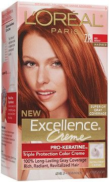 L Oreal Excellence Creme Red Penny With Images Loreal Loreal