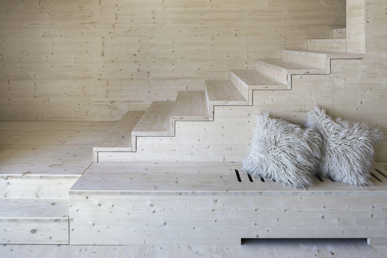 Ferienhaus innenarchitektur gallery of house p  yonder u architektur und design    rural