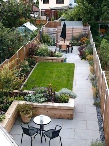 Image result for small urban garden rowhome | Small garden ...