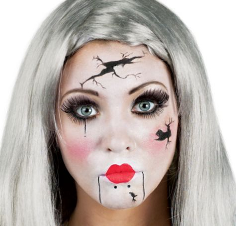 Broken Doll Makeup Kit - Party City | Halloween | Pinterest ...