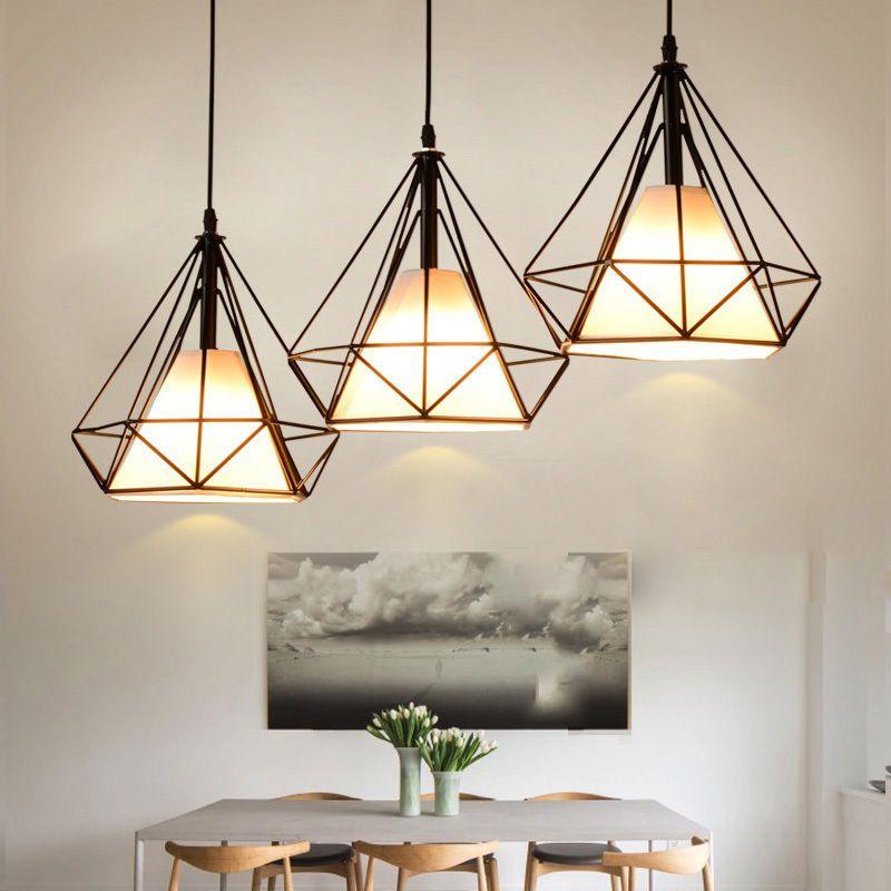 3x 5w led h ngeleuchte deckenlampe vintage lampe leuchte for Vintage lampen