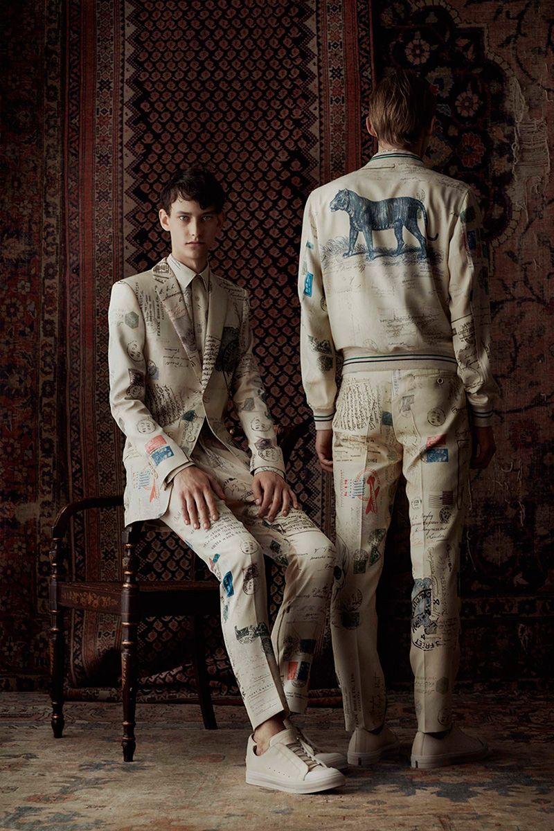 Alexander McQueen Spring Summer 2017 Primavera Verano #Menswear #Trends #Tendencias #Moda Hombre - F.Y!