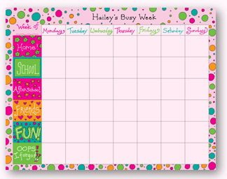 weekly schedule template for kids here are some links to free printable weekly calendars