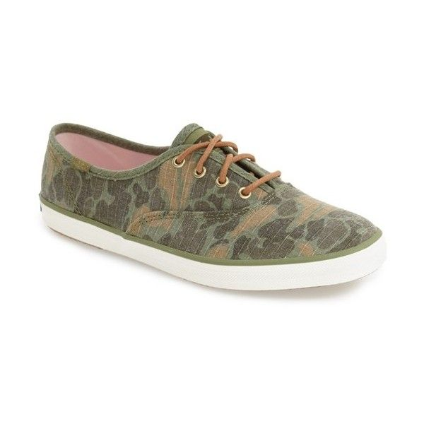 f8917976a41 Women s Keds  Champion  Print Sneaker ( 50) ❤ liked on Polyvore featuring  shoes