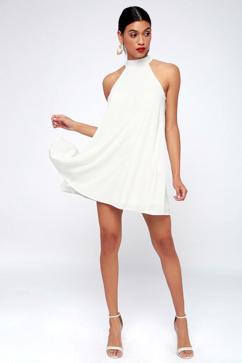 44++ White halter dress ideas in 2021
