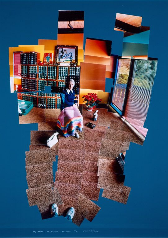 David Hockney (British, born 1937)   Mother, Los Angeles, December 1982   1982   Collage and chromogenic development prints   53 x 39 inches   Purchase with funds from the H. B. and Doris Massey Charitable Trust   2002.273   This is a portrait of the artist's #mother