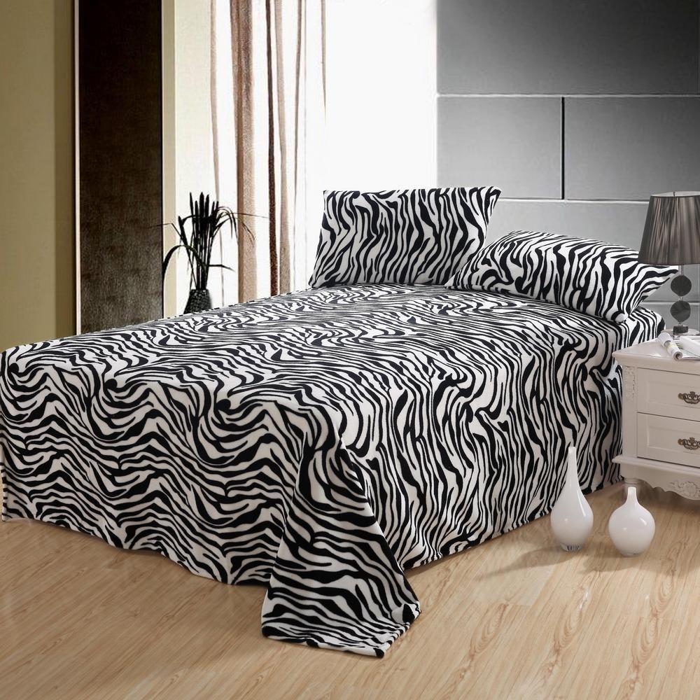 $24 Zebra Bed Sheets